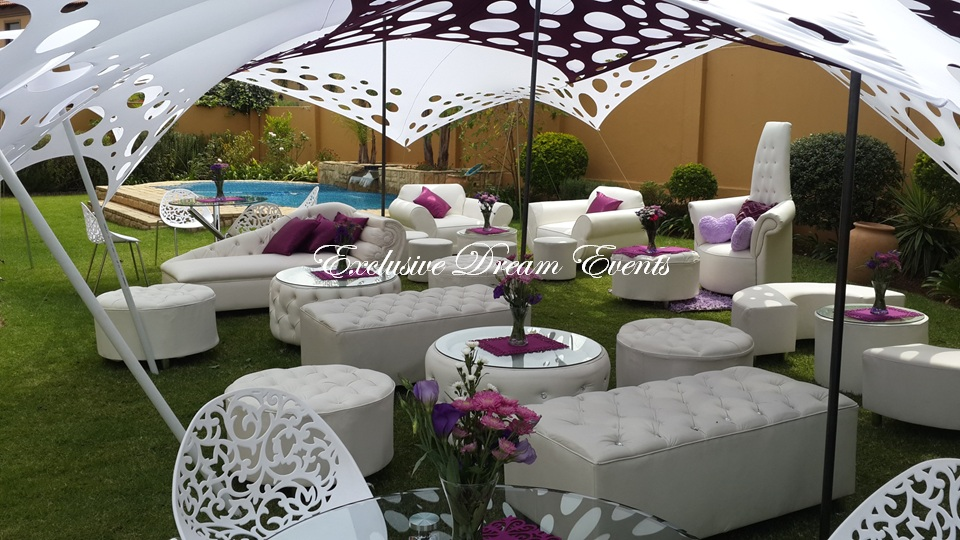 Couches And Ottomans For Hire Stretch Tent Baby Shower